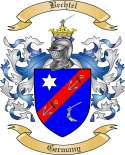 Bechtel Family Crest from Germany