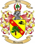 Beck Family Coat of Arms from Germany