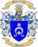 Bednarczyk Family Crest from Poland