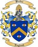 Beebee Family Coat of Arms from England