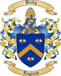 Beeby Family Coat of Arms from England