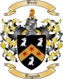 Beele Family Crest from England