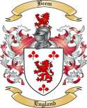 Beem Family Crest from England