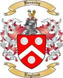 Beeseley Family Coat of Arms from England