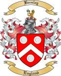 Beesley Family Coat of Arms from England
