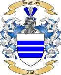 Beggiora Family Crest from Italy