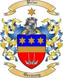Beier Family Crest from Germany