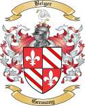 Beiger Family Crest from Germany