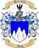 Belardini Family Crest from Italy