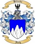 Belardo Family Crest from Italy