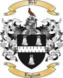 Bell Family Crest from England