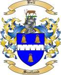 Bell Family Crest from Scotland