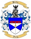 Bella Family Crest from Italy2