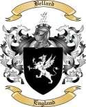 Bellard Family Crest from England