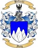 Bellardi Family Crest from Italy