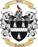 Belle Family Crest from England