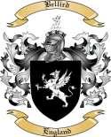 Bellird Family Crest from England