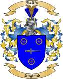 Bellis Family Crest from England