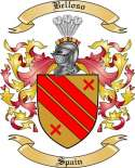 Belloso Family Crest from Spain