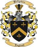 Bellyetere Family Crest from England