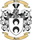 Beltri Family Crest from Spain