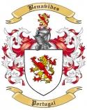 Benavides Family Crest from Portugal