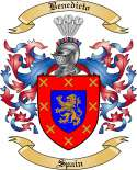 Benedicto Family Crest from Spain