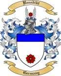 Benedikt Family Crest from Germany