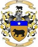 Benet Family Crest from France