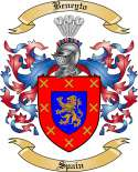 Beneyto Family Crest from Spain