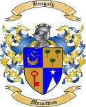 Bengaly Family Crest from Mauritius