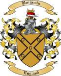 Beniamin Family Crest from England