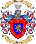Benites Family Crest from Spain