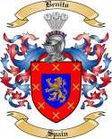 Benito Family Crest from Spain