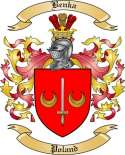 Benka Family Crest from Poland