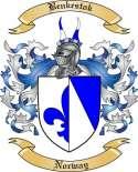 Benkestok Family Crest from Norway