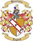 Bennisoun Family Crest from England