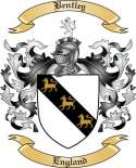 Bentley Family Coat of Arms from England