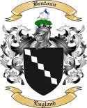Bentoun Family Crest from England
