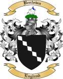 Bentown Family Crest from England