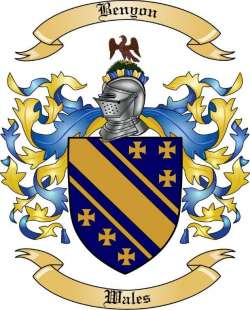 Benyon Family Coat of Arms from Wales2