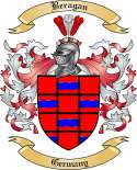 Beragan Family Crest from Germany