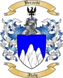 Berardi Family Crest from Italy