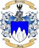 Berardo Family Crest from Italy