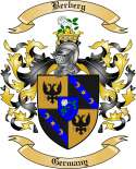 Berberg Family Crest from Germany