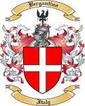 Bergantino Family Crest from Italy