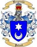 Bergenski Family Crest from Poland