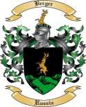 Berger Family Crest from Russia