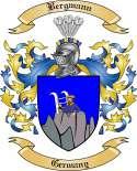 Bergmann Family Crest from Germany2