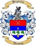 Bergmann Family Crest from Germany